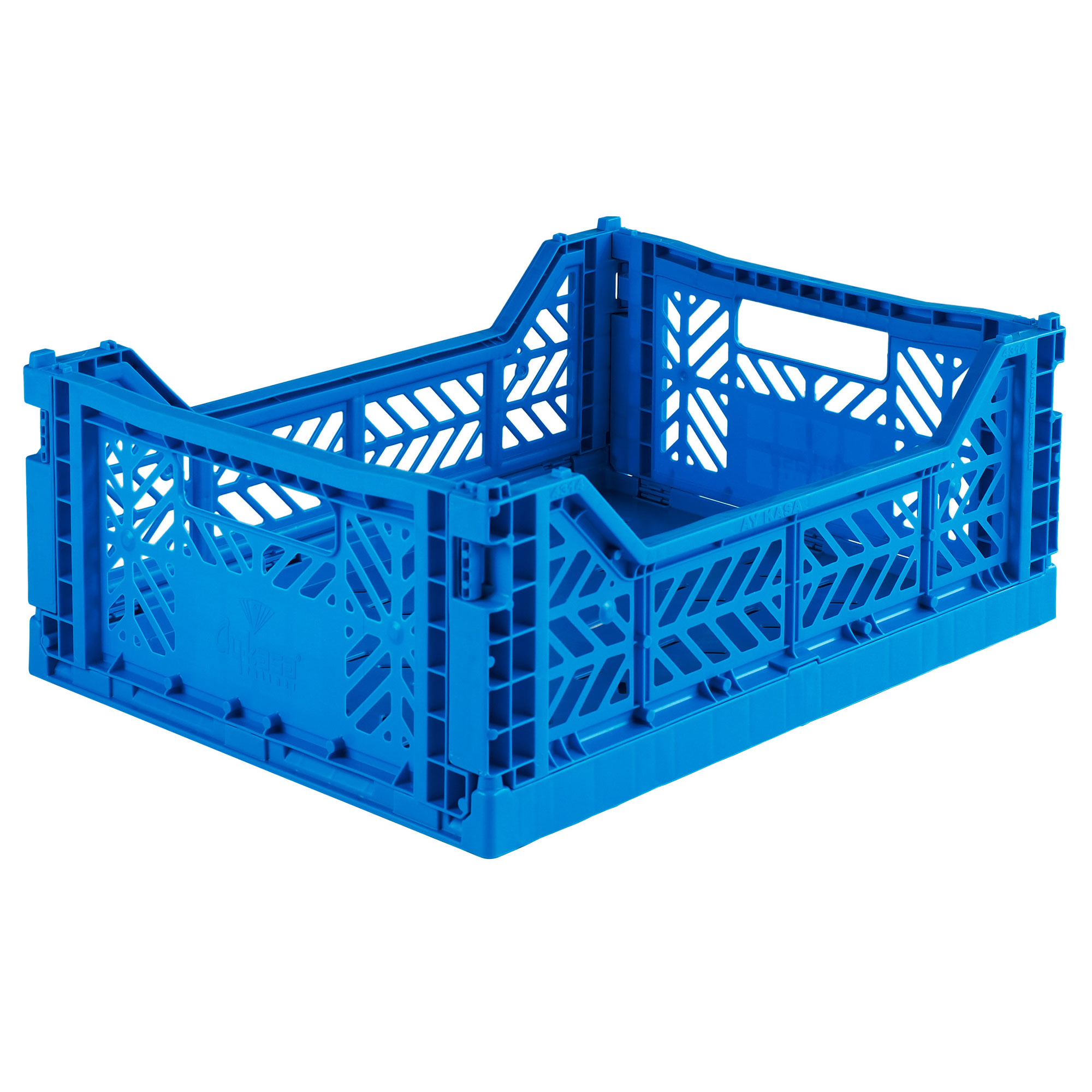 Eef Lillemor Folding Crate Midi - Blue