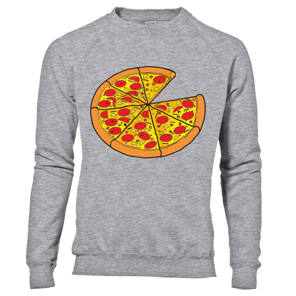 Twinning sweater Pizza - Man