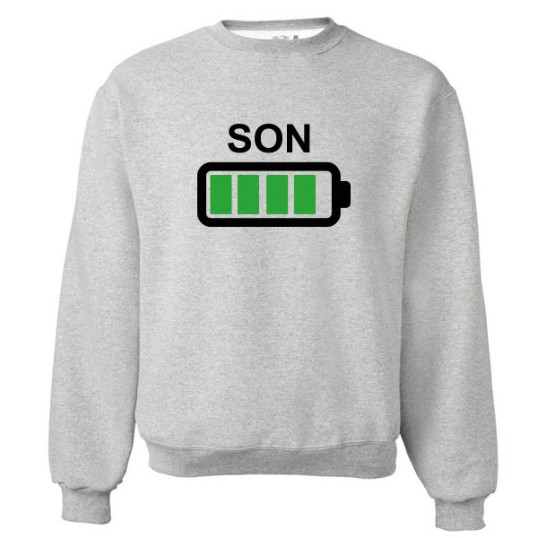 Twinning sweater Batterij - Kids Son