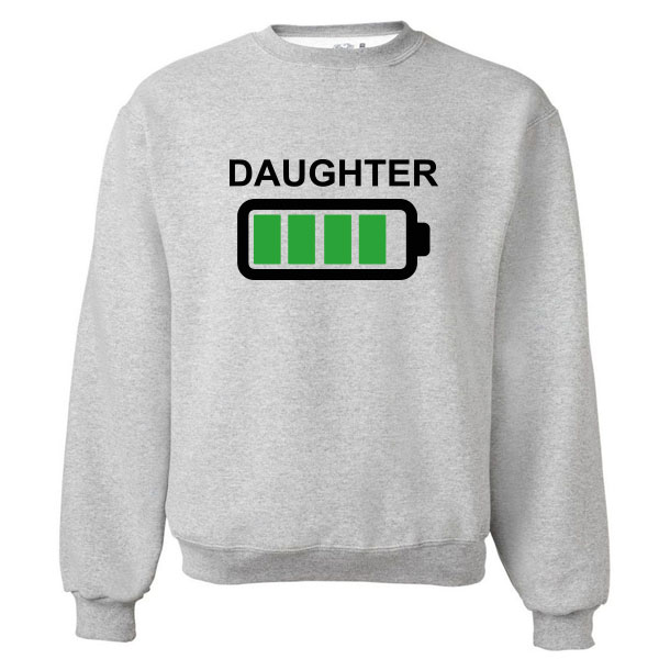 Twinning sweater Batterij - Kids Daughter