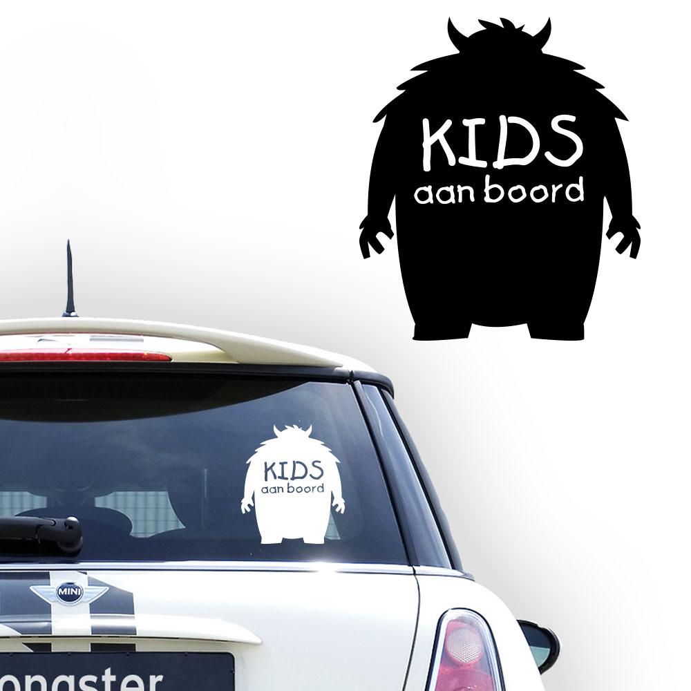 Personalized (baby) on board sticker, model 97