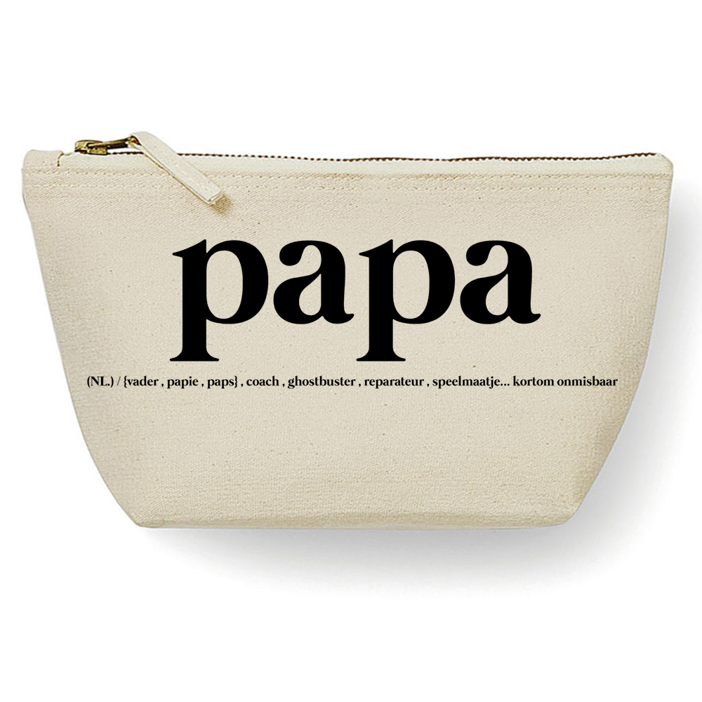 Canvas Tas -  Papa