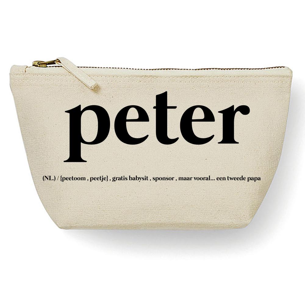 Canvas Tas - Peter