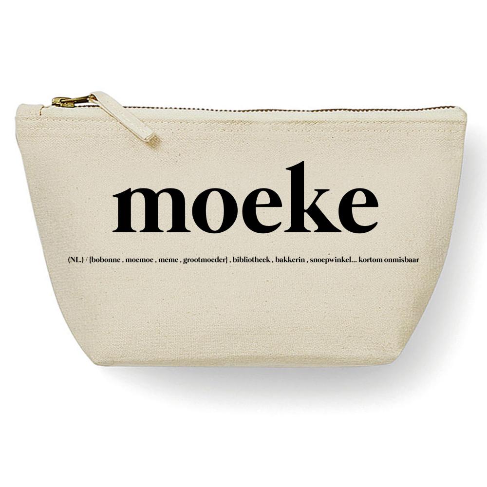 Canvas Tas - Moeke