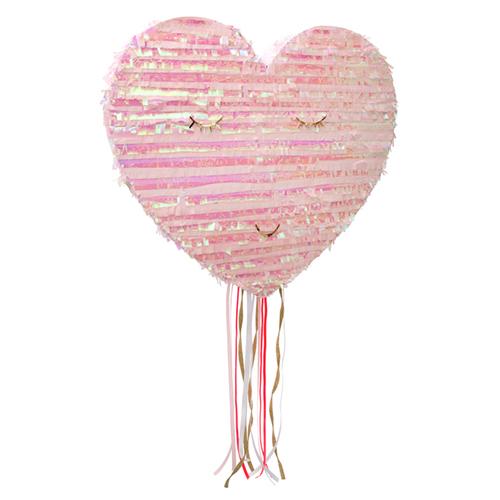 Piñata coeur rose