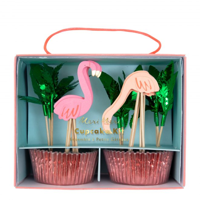 Cupcake Kit Flamingo's
