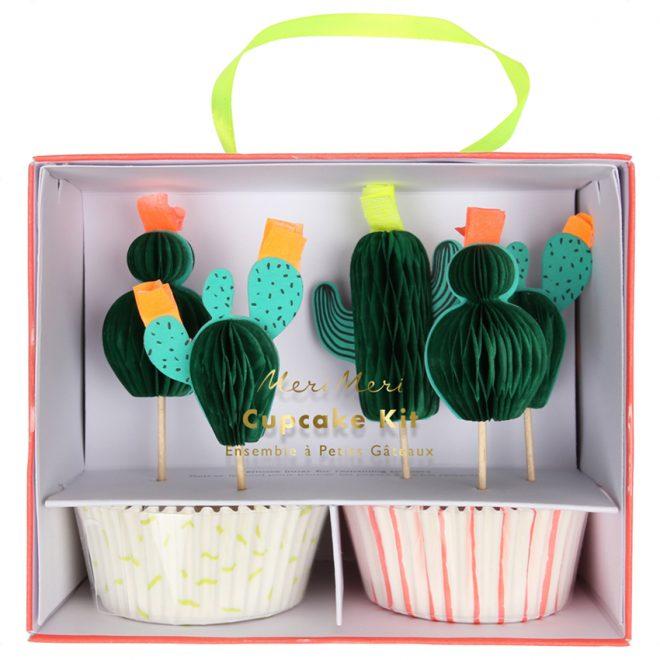 Cupcake Kit Cactus