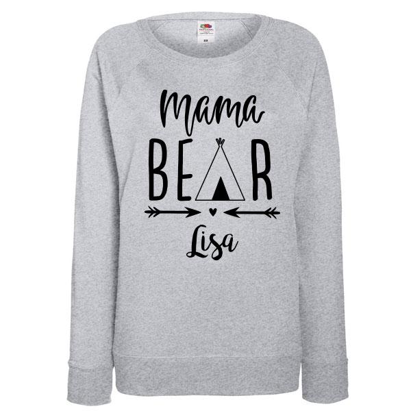 Twinning sweater Bear - Vrouw