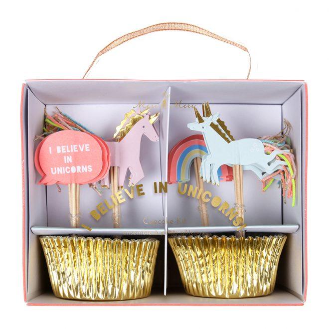 Cupcake Kit eenhoorn