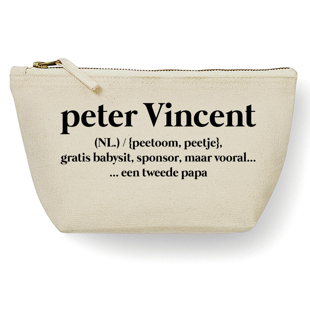 Canvas Tas - Peter