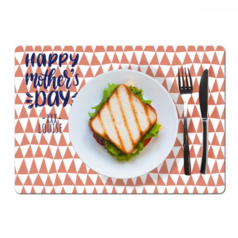 Set de table fête des mères avec photo et texte