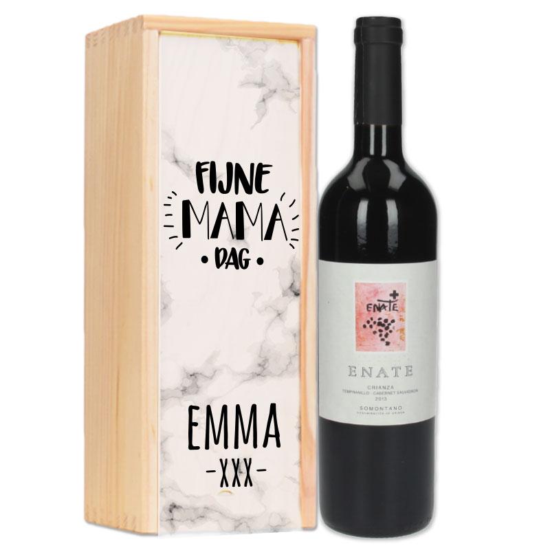 Gepersonaliseerd wijnpakket Enate Crianza