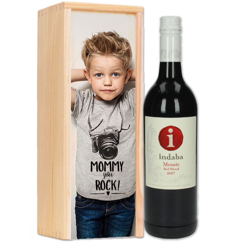 Gepersonaliseerd wijnpakket Indaba Mosaïc