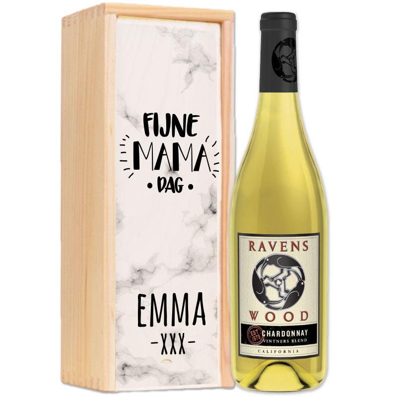 Gepersonaliseerd wijnpakket Ravenswood Vintners Blend Chardonnay