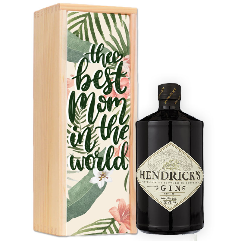 Coffret personnalisé pour Gin Hendrick's