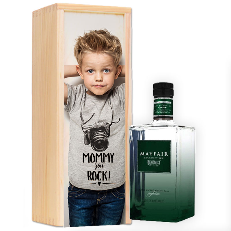 Gepersonaliseerd ginpakket Mayfair London Dry Gin
