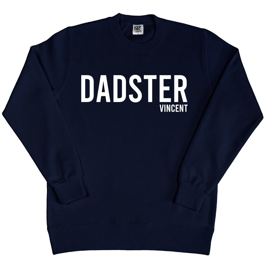 Sweater - Dadster - Navy