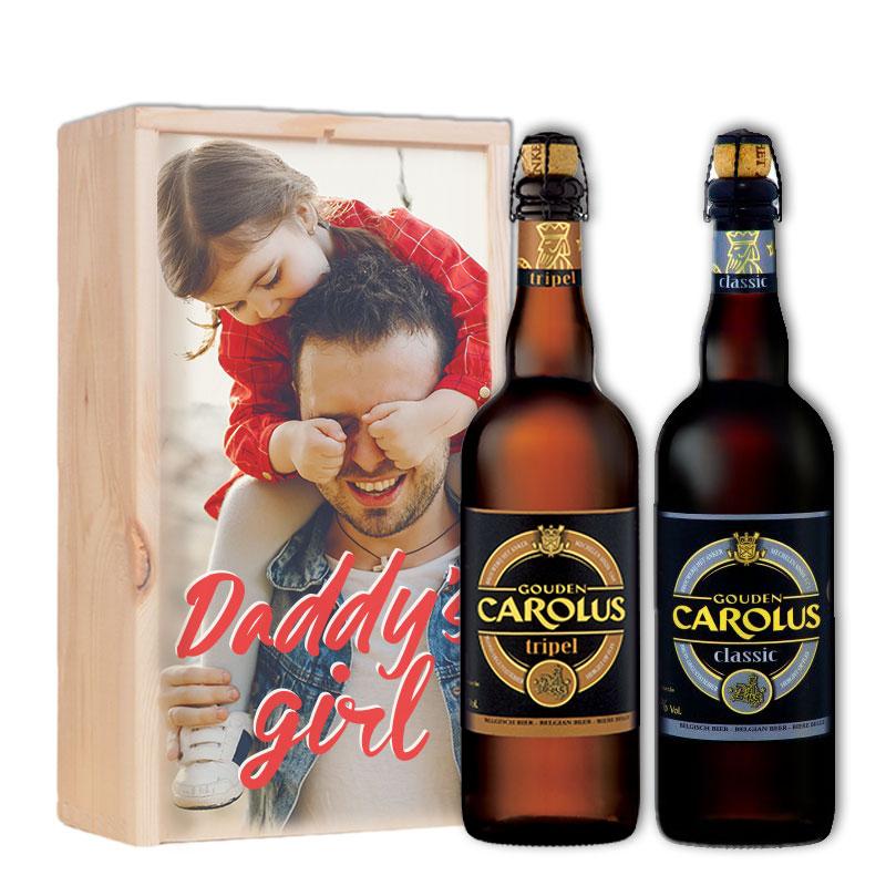 Gepersonaliseerd bierpakket met Gouden Carolus Tripel & Classic
