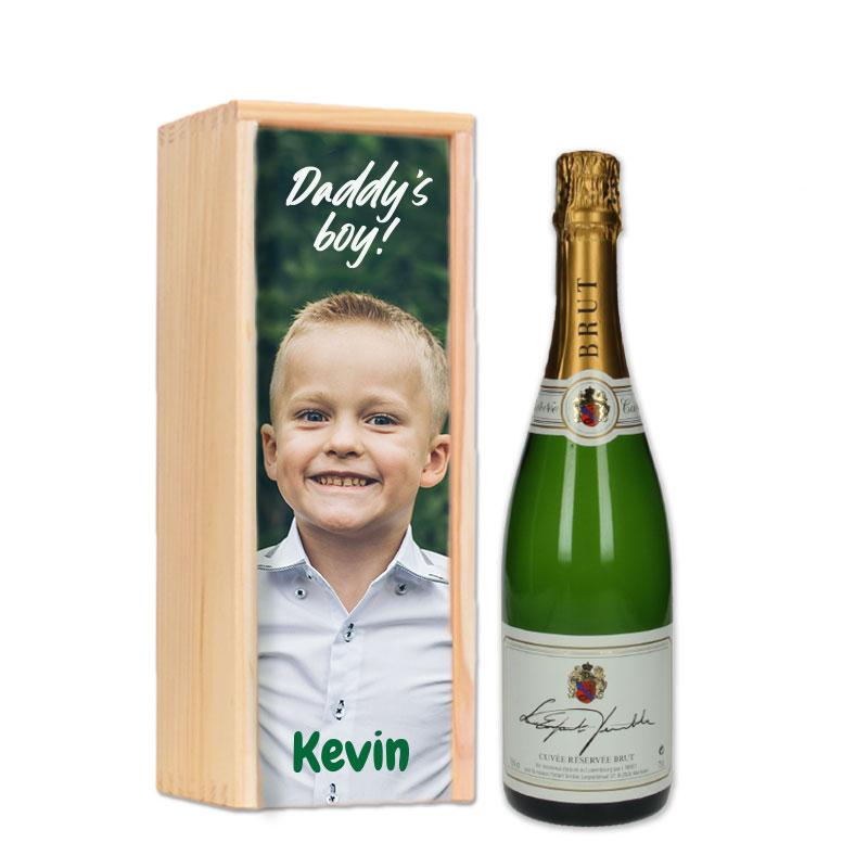 Gepersonaliseerd cavapakket Cuvée Reservée L'Enfant Terrible