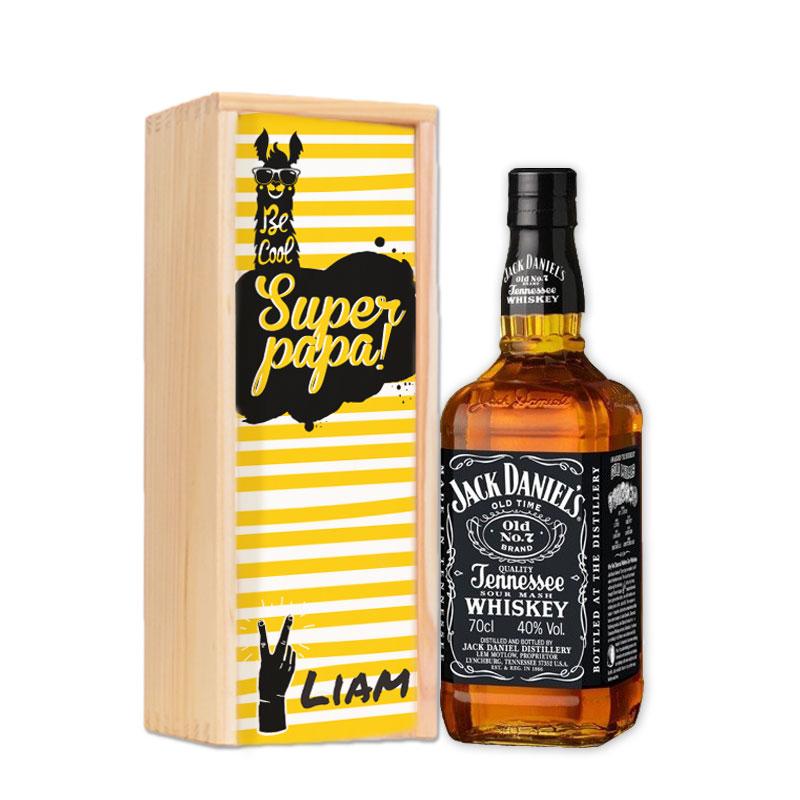 Gepersonaliseerd pakket Jack Daniels Tennessee Whiskey