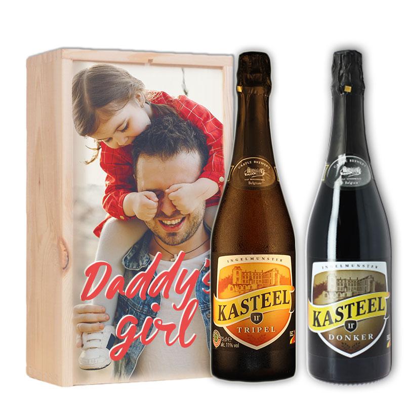Gepersonaliseerd bierpakket met Kasteel Tripel & Donker