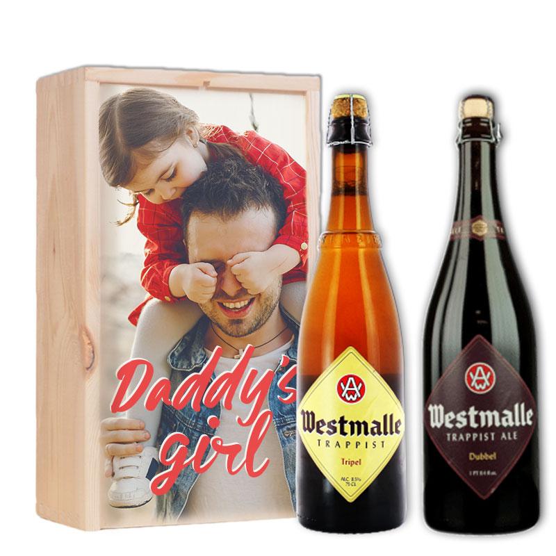Gepersonaliseerd bierpakket met Westmalle Tripel & Dubbel
