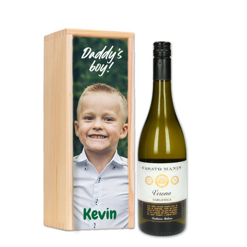 Gepersonaliseerd wijnpakket Garganega Verona