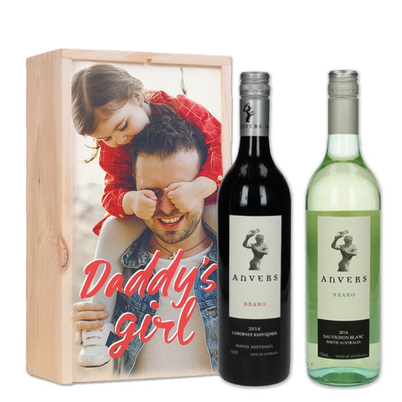 Gepersonaliseerd wijnpakket Anvers Brabo Rood & Wit