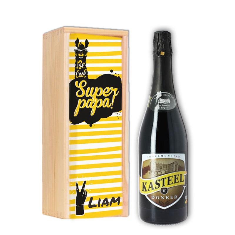 Gepersonaliseerd bierpakket met Kasteel Donker
