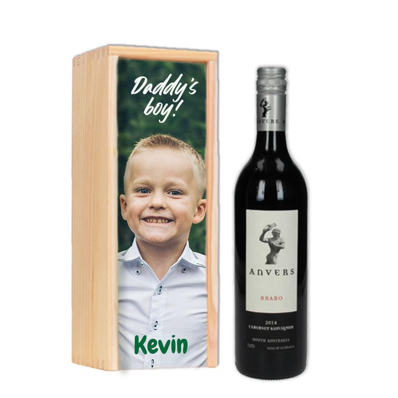 Gepersonaliseerd wijnpakket  Anvers Brabo