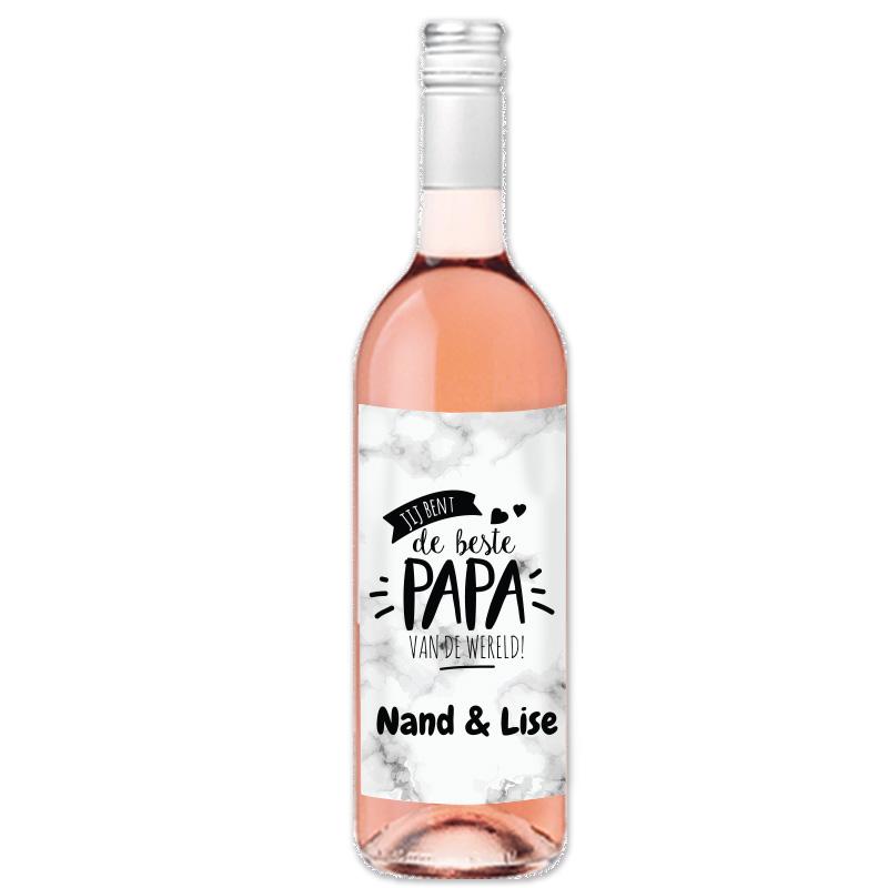 Rocca Maura Rosé - avec étiquette personnalisée