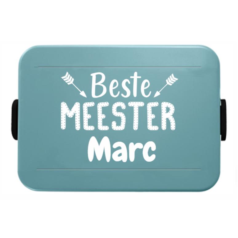Juf/Meester Mepal to go Lunchbox met naam, large