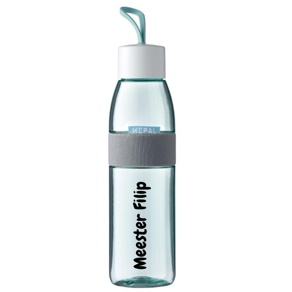 Juf/Meester Mepal Ellipse drinkfles met naam