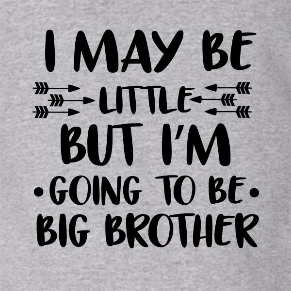 Going to be big brother - Pijlen