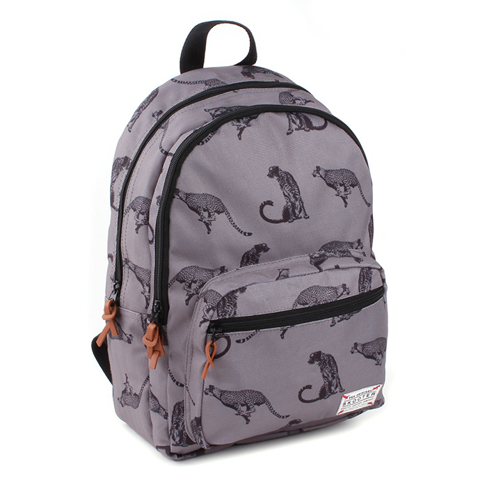 Skooter Rugzak Animal Kingdom Grey
