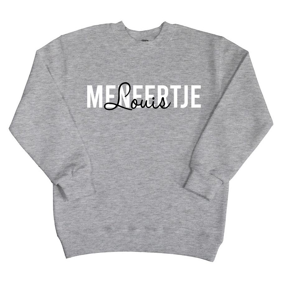 Sweater met naam - Meneertje