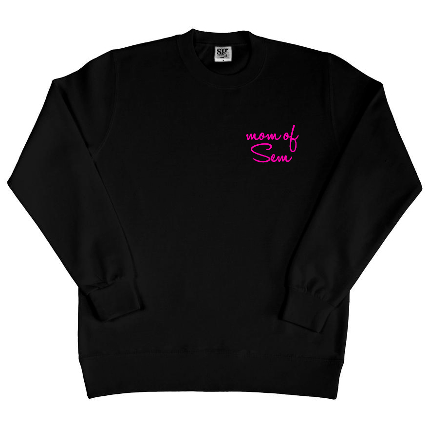 Sweater met naam - Mom of