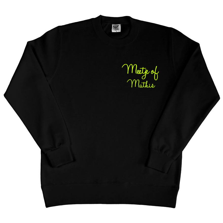 Sweater met naam - Meetje of
