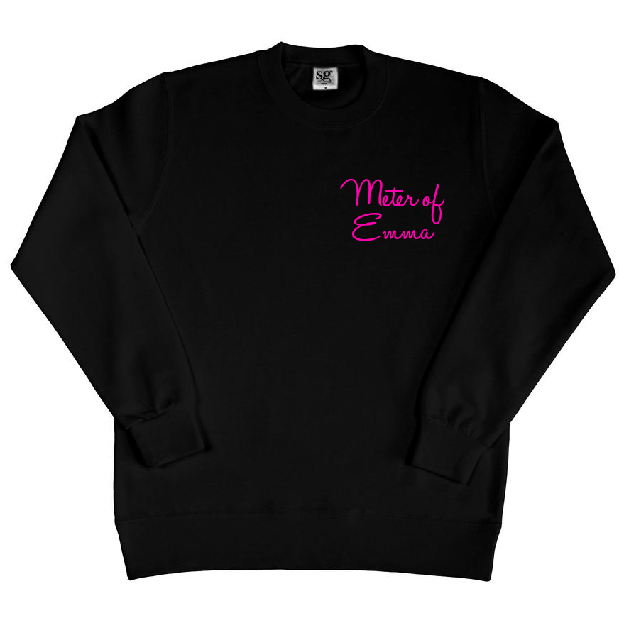 Sweater met naam - Meter of