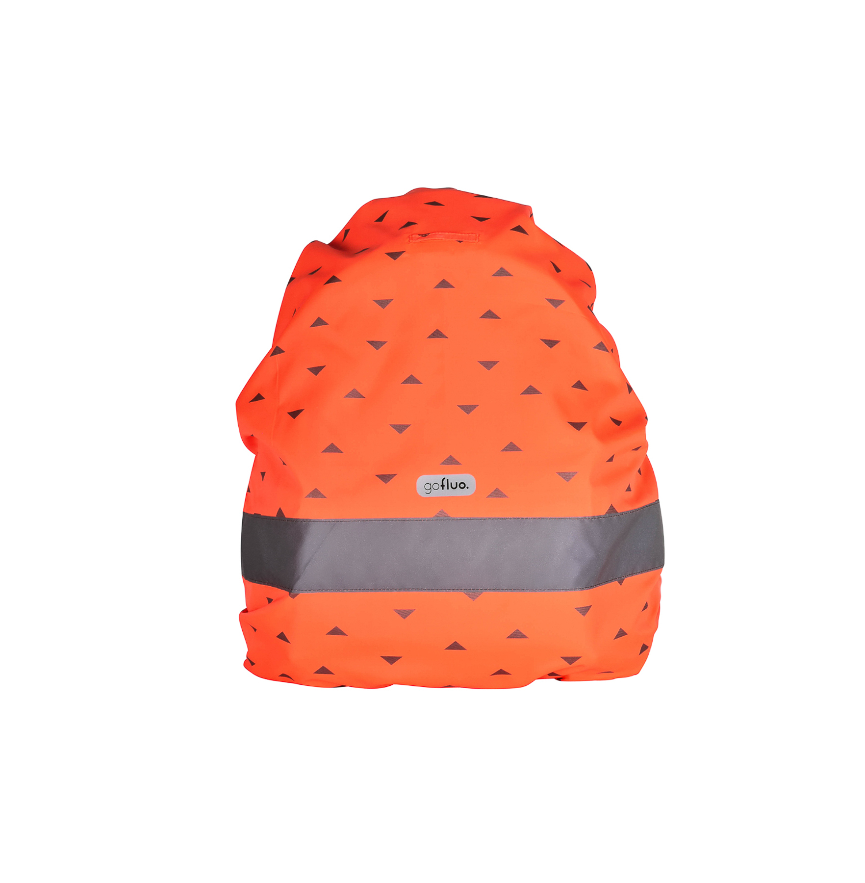 Rugzakhoes Nell rood oranje one size