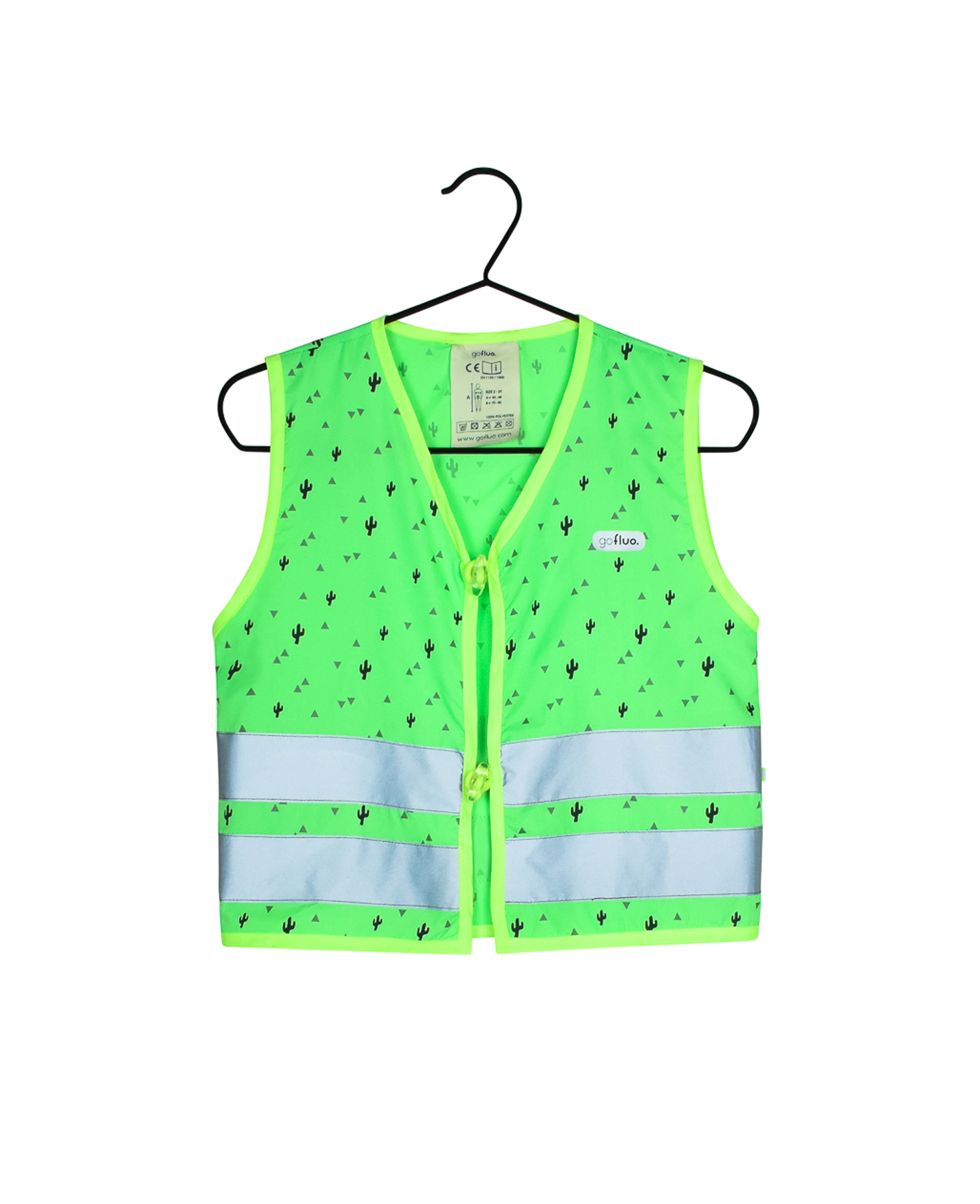 Fluohesje Phill groen size 4-6Y