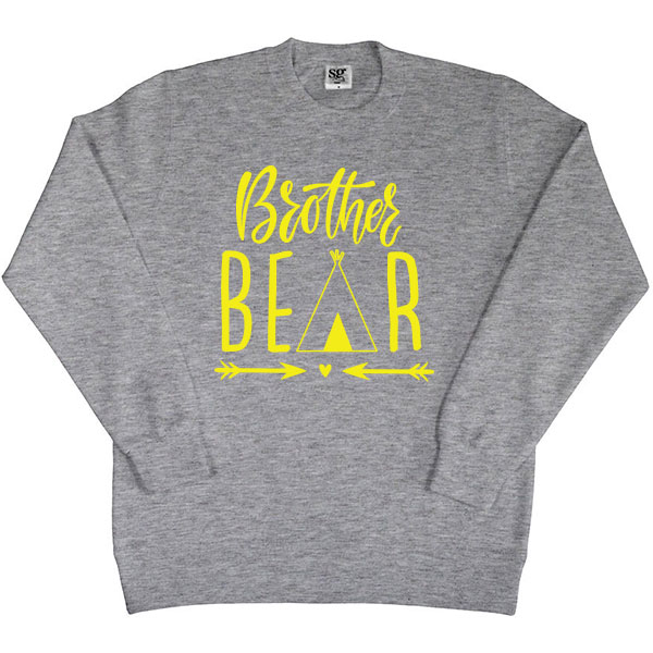 Twinning sweater Bear - Kids Brother