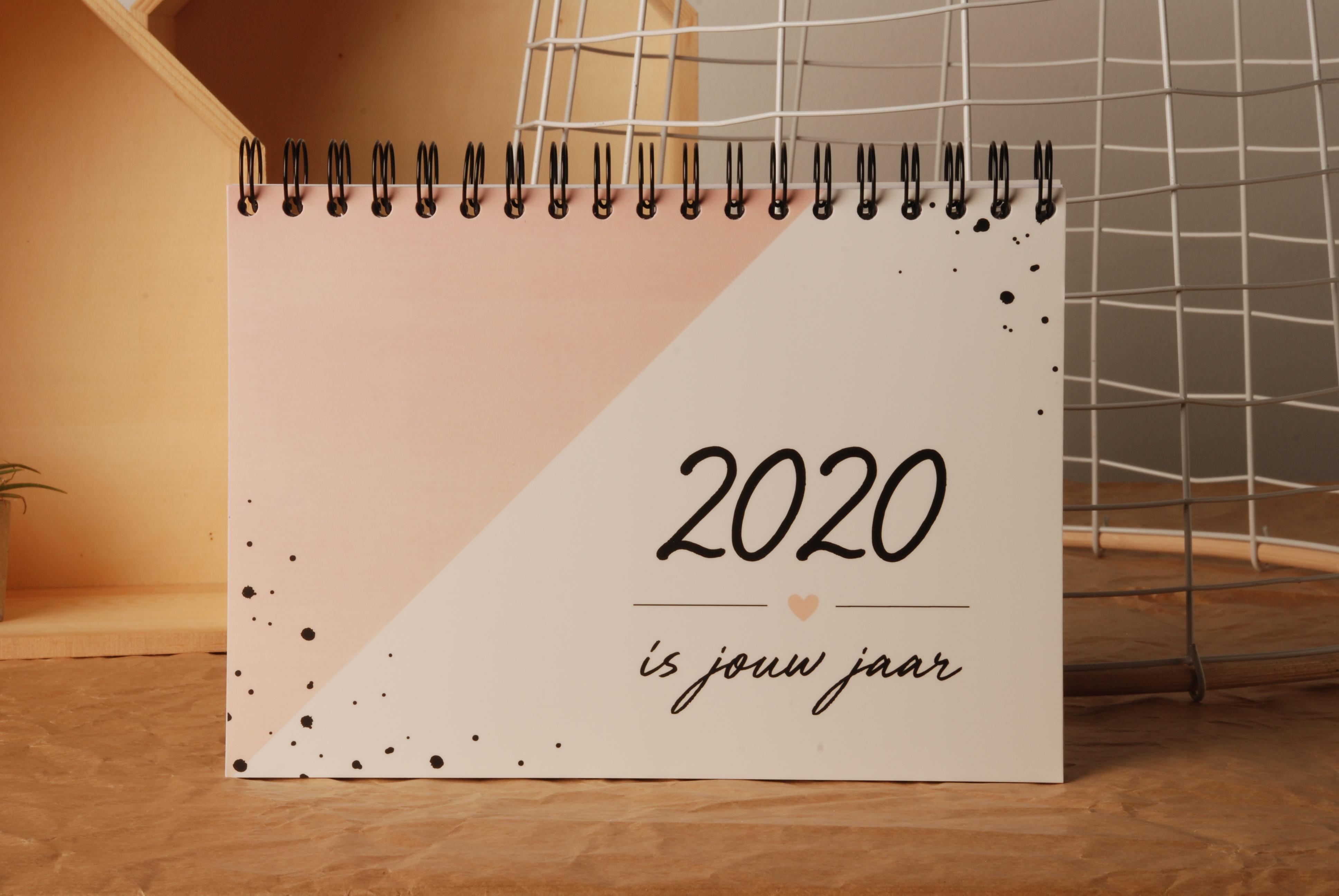 Agenda - planner 2020 roos