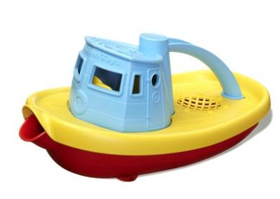 Sleepboot blauw