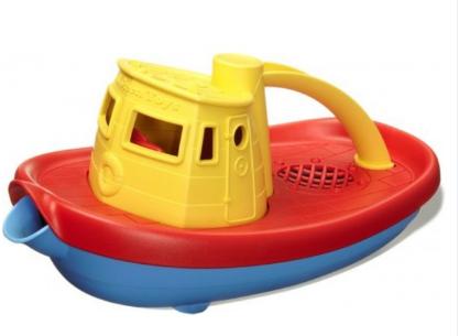Sleepboot geel