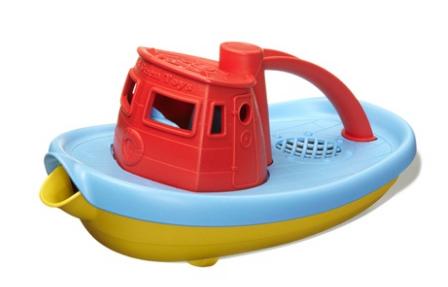 Sleepboot rood