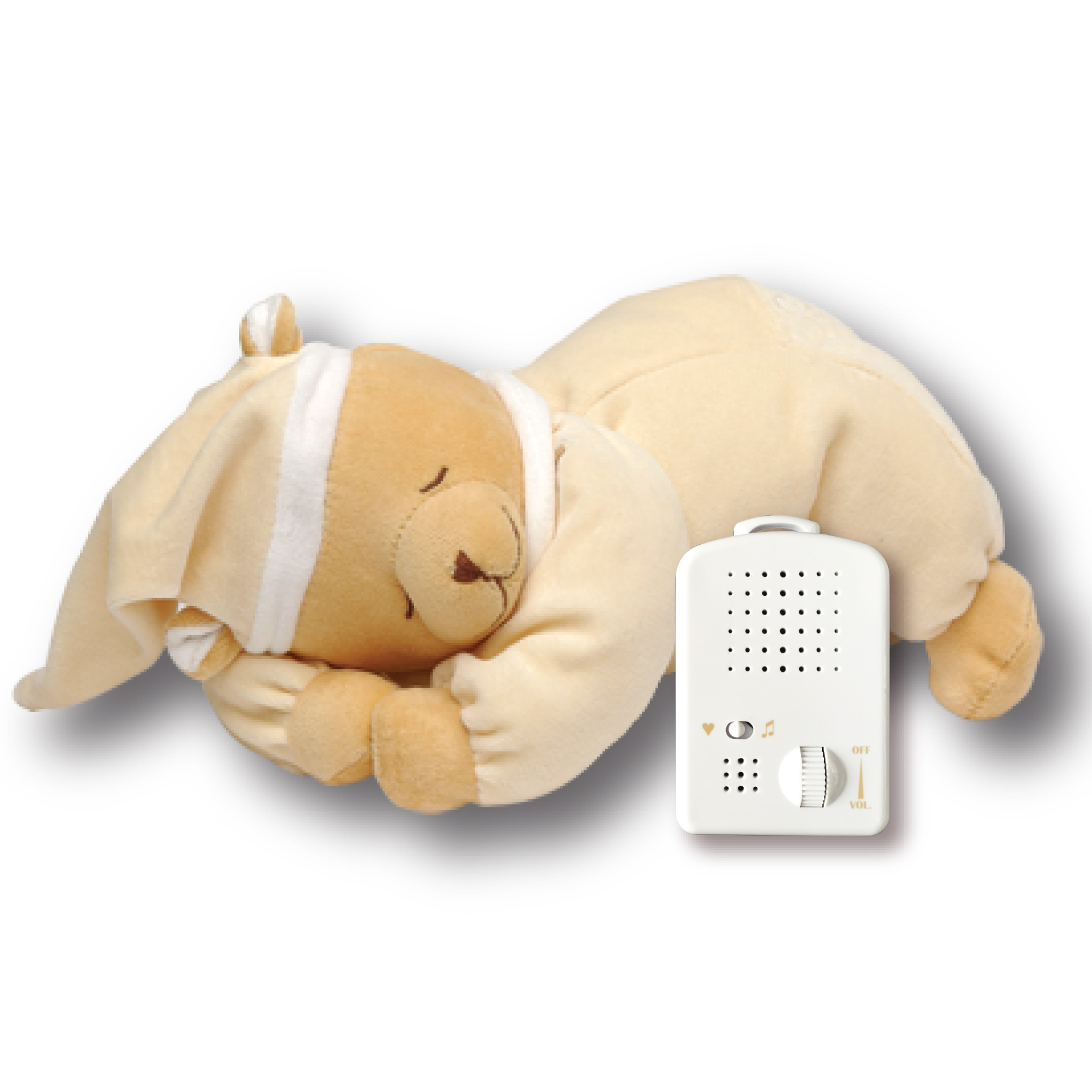 Doodoo sleeping bear off-white