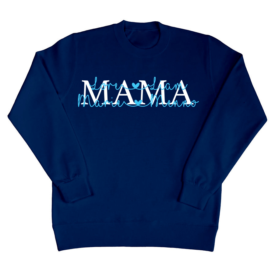 Mama sweater met namen