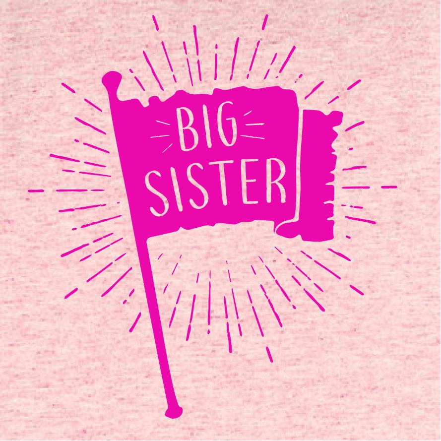 Big sister vlag