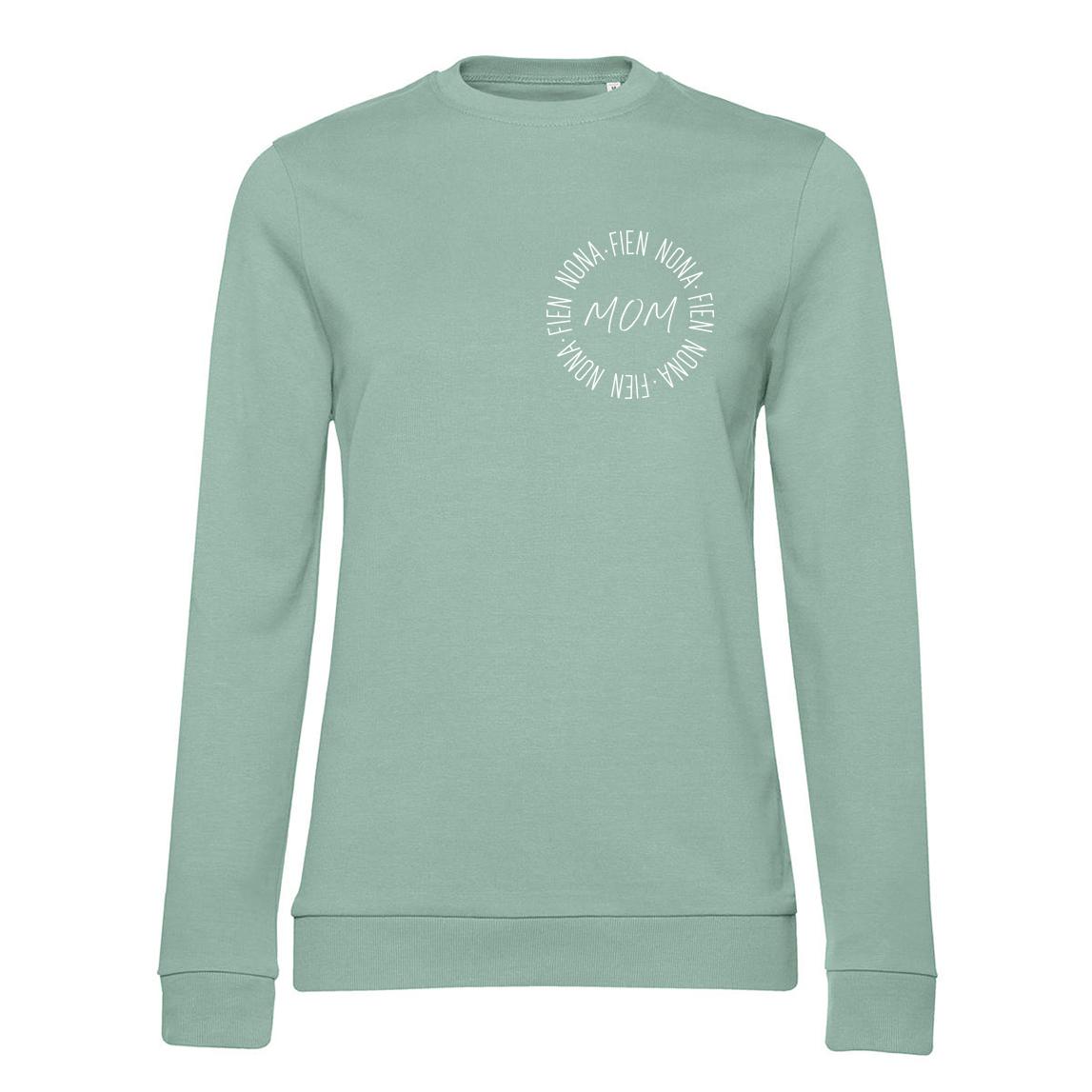 Sweater - Mom - Cirkel met naam